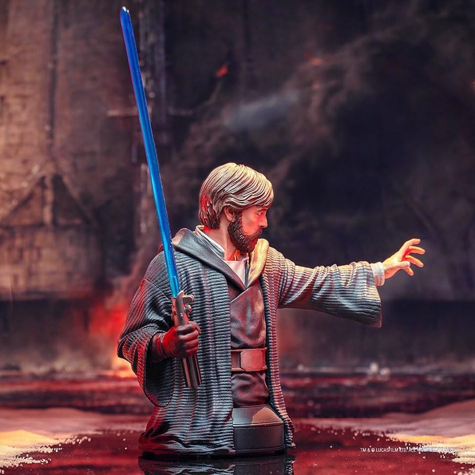 Gentle Giant - LUKE SKYWALKER - The Last Jedi 1:6 Resin Bust Luke_b17