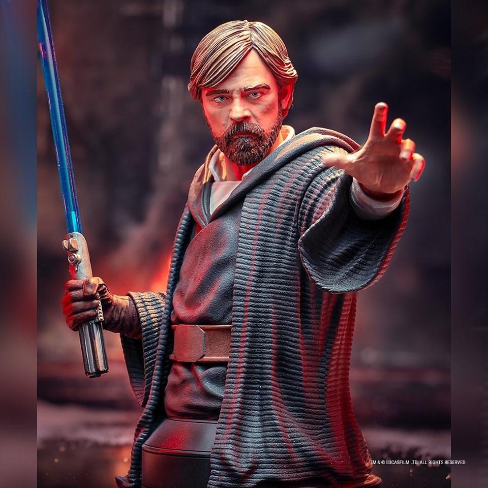 Gentle Giant - LUKE SKYWALKER - The Last Jedi 1:6 Resin Bust Luke_b19