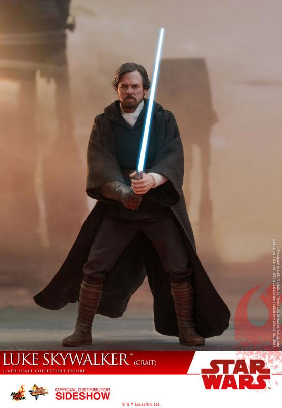 Hot Toys Star Wars Luke Skywalker (Crait) Sixth Scale Figure Luke_c10