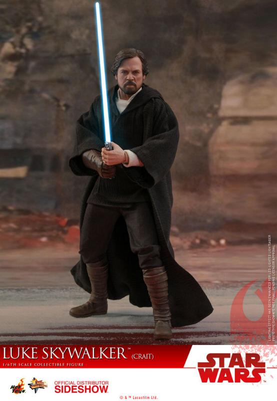 Hot Toys Star Wars Luke Skywalker (Crait) Sixth Scale Figure Luke_c12