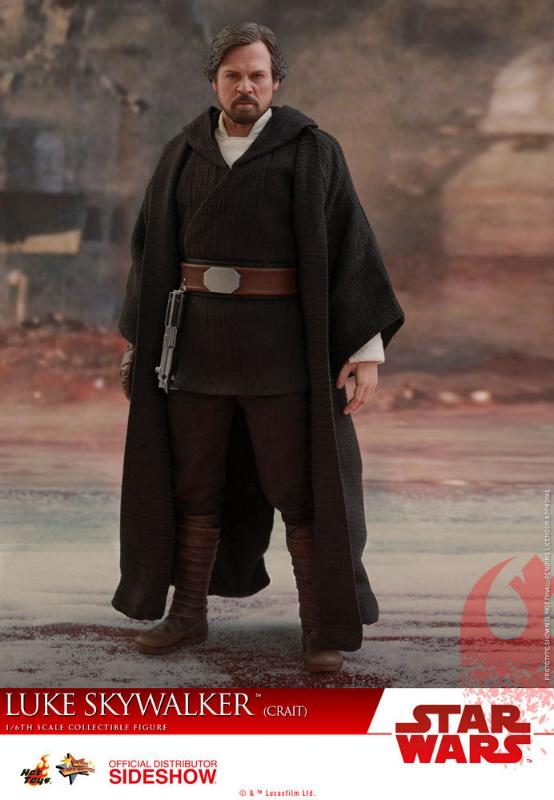 Hot Toys Star Wars Luke Skywalker (Crait) Sixth Scale Figure Luke_c15