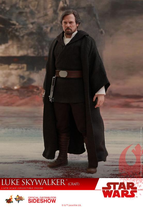 Hot Toys Star Wars Luke Skywalker (Crait) Sixth Scale Figure Luke_c16