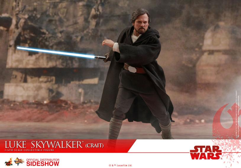 Hot Toys Star Wars Luke Skywalker (Crait) Sixth Scale Figure Luke_c23