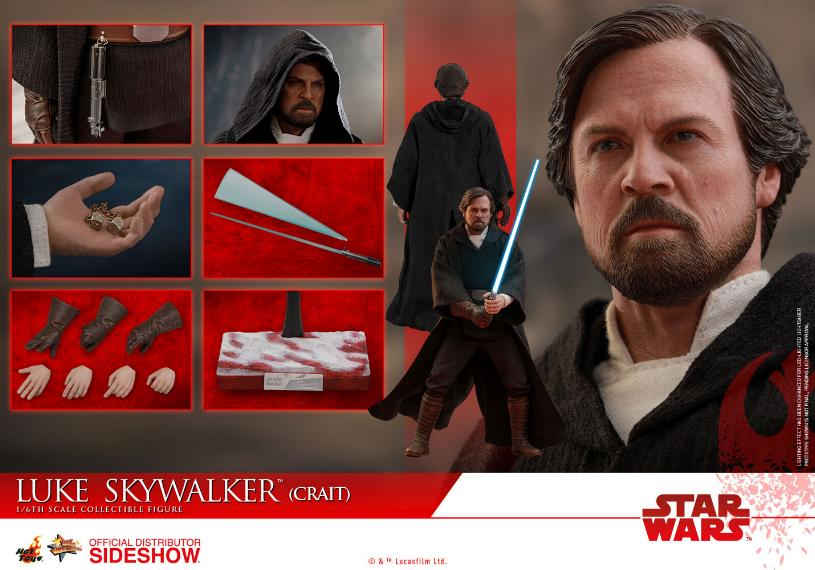 Hot Toys Star Wars Luke Skywalker (Crait) Sixth Scale Figure Luke_c31