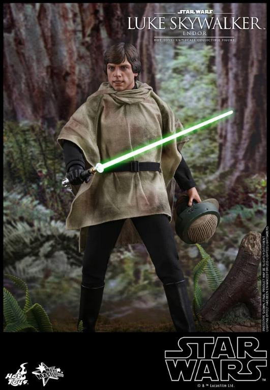 Hot Toys Star Wars Luke Skywalker ROTJ (Endor) 1/6 Luke_e11