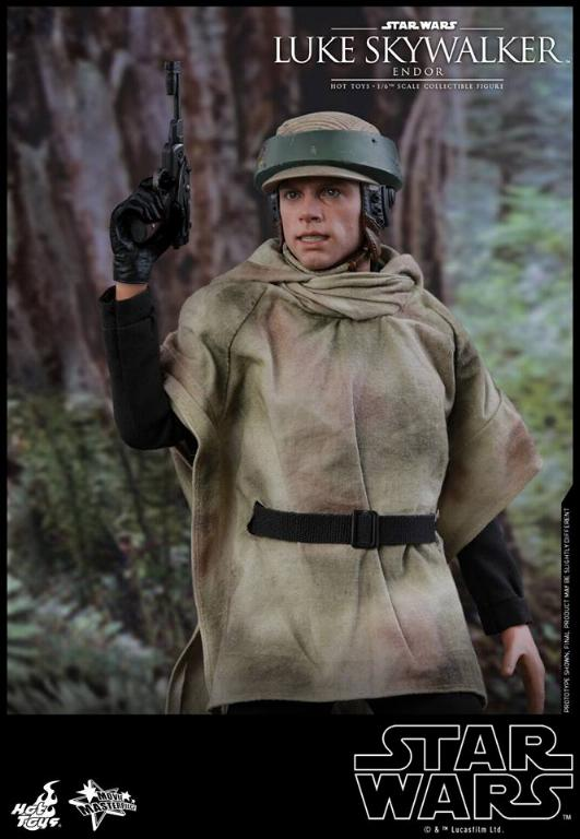 Hot Toys Star Wars Luke Skywalker ROTJ (Endor) 1/6 Luke_e12