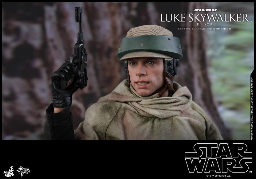 Hot Toys Star Wars Luke Skywalker ROTJ (Endor) 1/6 Luke_e14