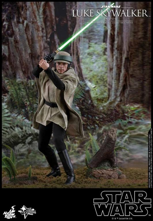 Hot Toys Star Wars Luke Skywalker ROTJ (Endor) 1/6 Luke_e15