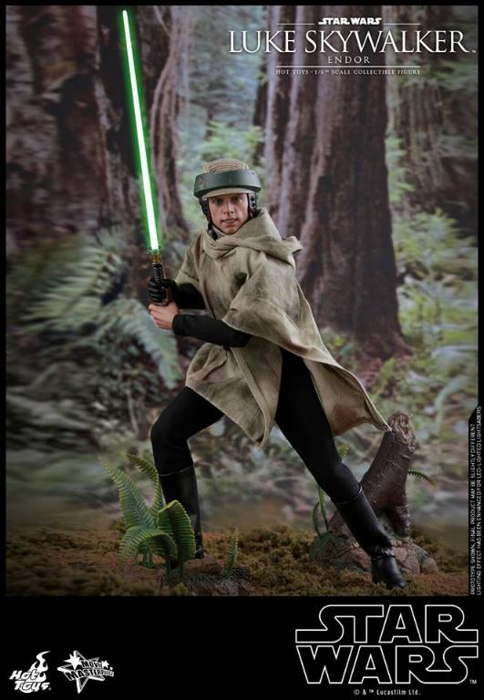 Hot Toys Star Wars Luke Skywalker ROTJ (Endor) 1/6 Luke_e16