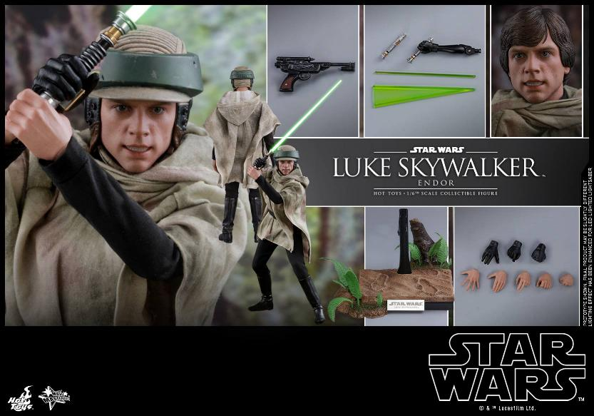 Hot Toys Star Wars Luke Skywalker ROTJ (Endor) 1/6 Luke_e19