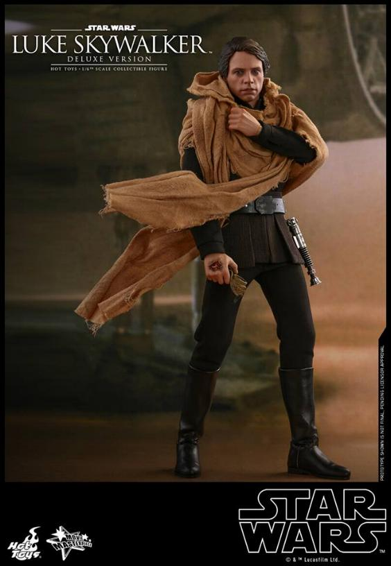 Hot Toys Star Wars Luke Skywalker ROTJ - 1:6 Figure (Deluxe) Luke_e20