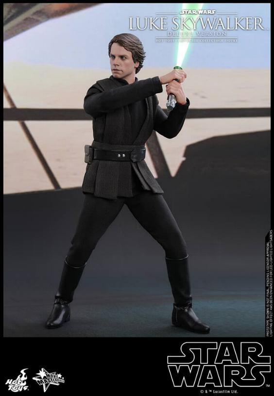 Hot Toys Star Wars Luke Skywalker ROTJ - 1:6 Figure (Deluxe) Luke_e25