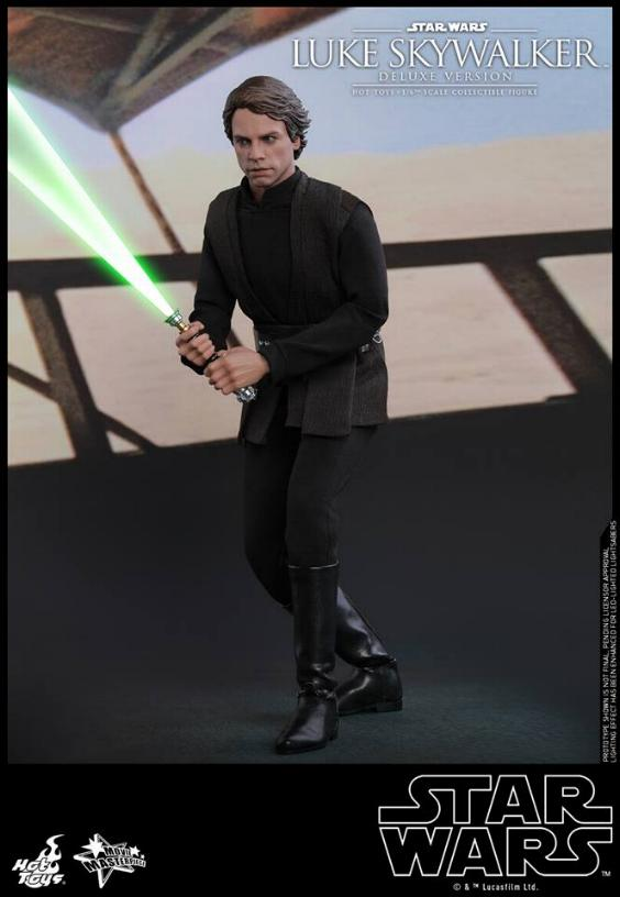 Hot Toys Star Wars Luke Skywalker ROTJ - 1:6 Figure (Deluxe) Luke_e26