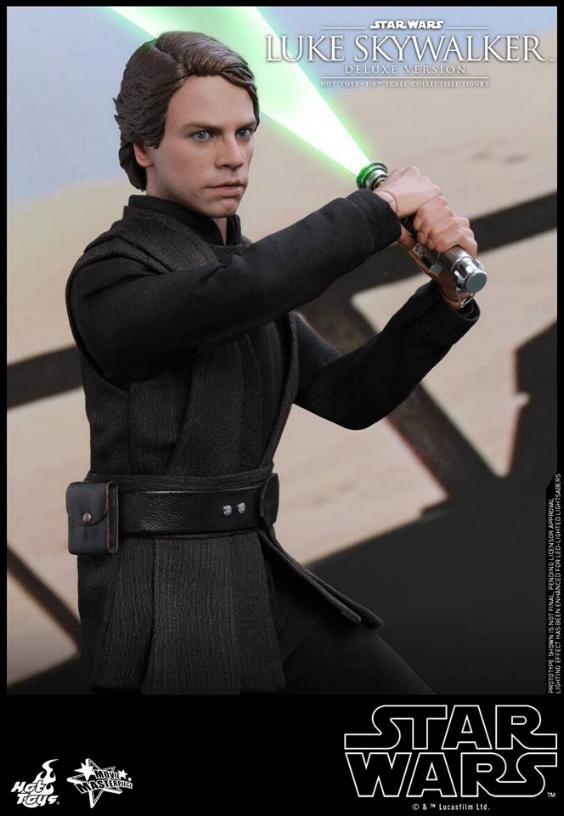 Hot Toys Star Wars Luke Skywalker ROTJ - 1:6 Figure (Deluxe) Luke_e27