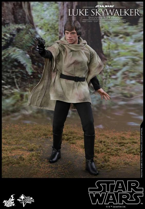 Hot Toys Star Wars Luke Skywalker ROTJ - 1:6 Figure (Deluxe) Luke_e28