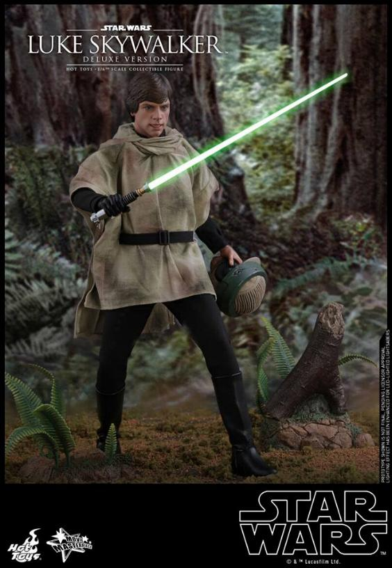 Hot Toys Star Wars Luke Skywalker ROTJ - 1:6 Figure (Deluxe) Luke_e29