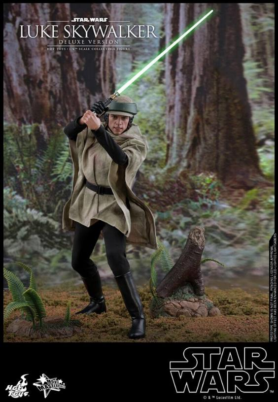 Hot Toys Star Wars Luke Skywalker ROTJ - 1:6 Figure (Deluxe) Luke_e30