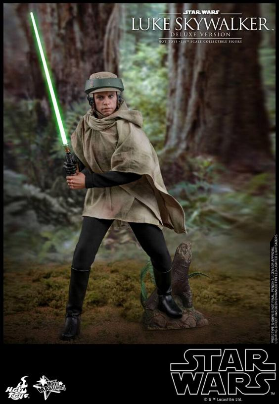 Hot Toys Star Wars Luke Skywalker ROTJ - 1:6 Figure (Deluxe) Luke_e31