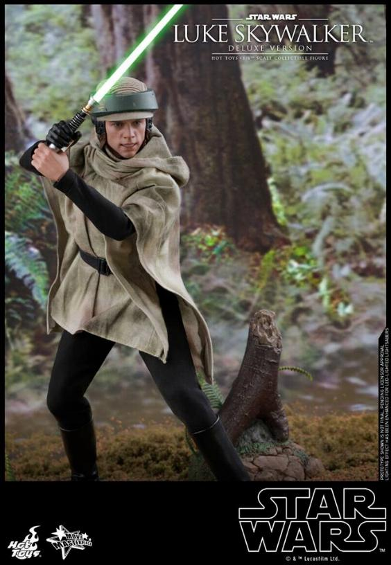 Hot Toys Star Wars Luke Skywalker ROTJ - 1:6 Figure (Deluxe) Luke_e32
