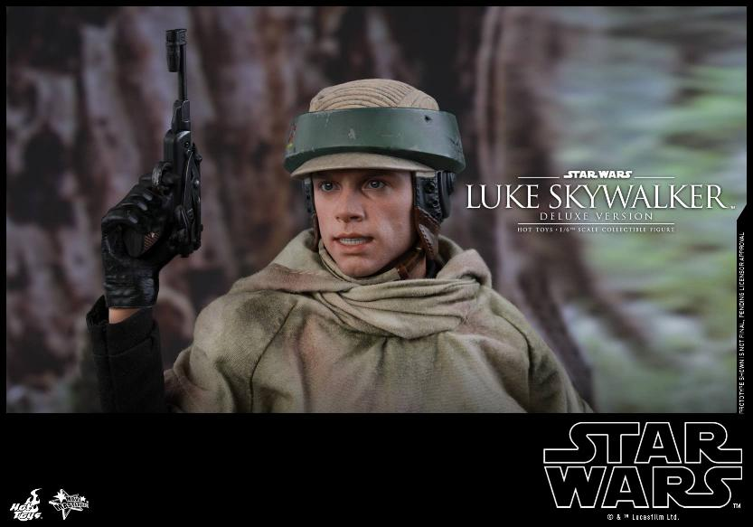 Hot Toys Star Wars Luke Skywalker ROTJ - 1:6 Figure (Deluxe) Luke_e33