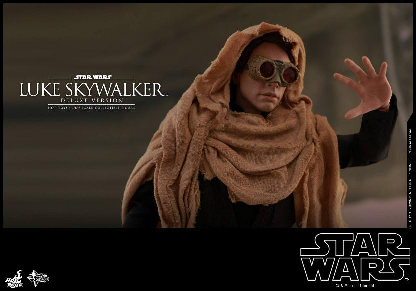Hot Toys Star Wars Luke Skywalker ROTJ - 1:6 Figure (Deluxe) Luke_e35