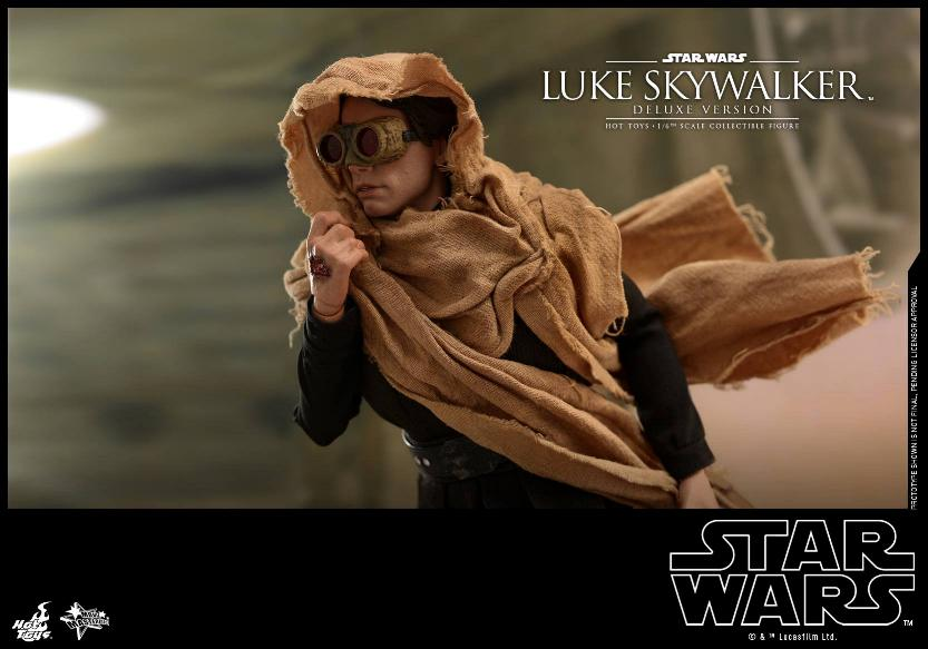 Hot Toys Star Wars Luke Skywalker ROTJ - 1:6 Figure (Deluxe) Luke_e36