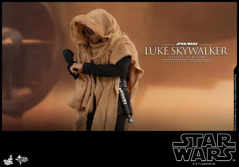 Hot Toys Star Wars Luke Skywalker ROTJ - 1:6 Figure (Deluxe) Luke_e37