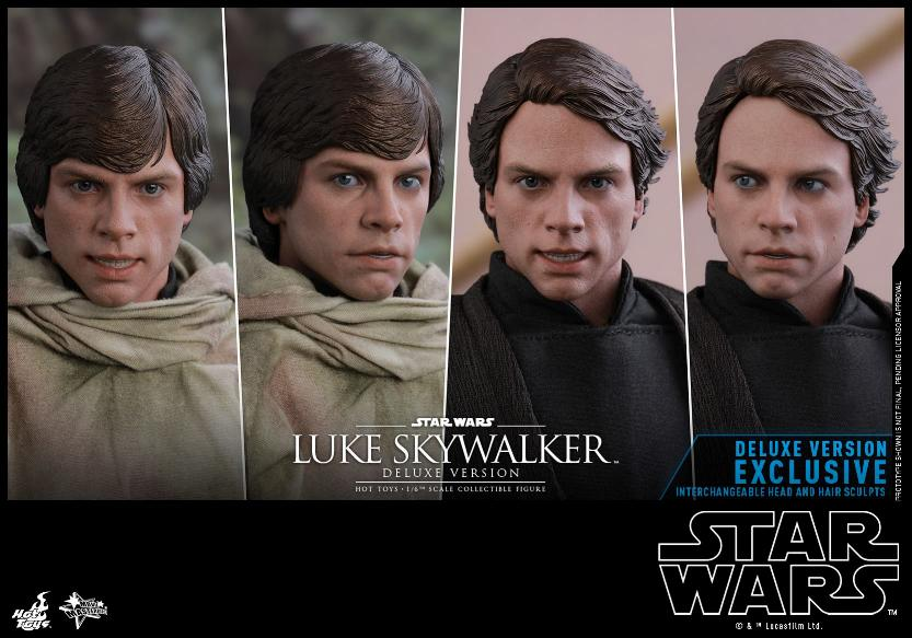 Hot Toys Star Wars Luke Skywalker ROTJ - 1:6 Figure (Deluxe) Luke_e38