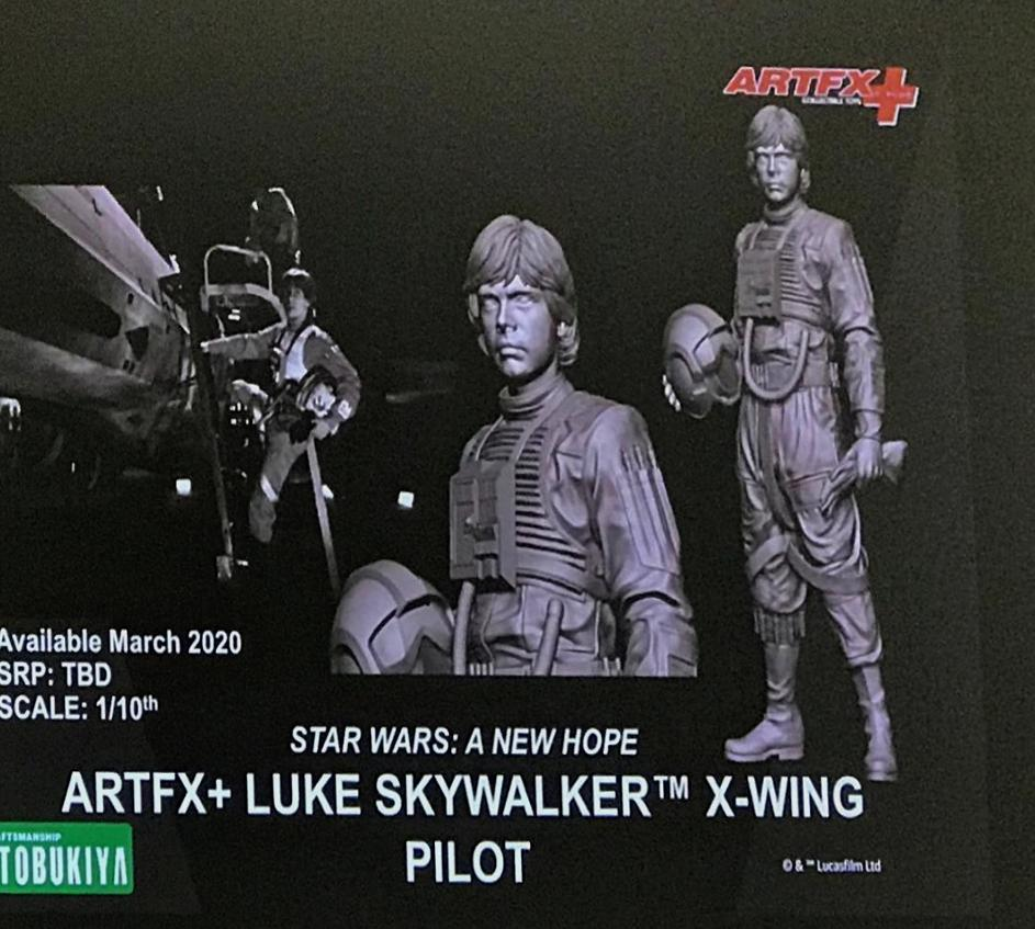 Luke Skywalker ANH Pilot - ARTFX+ 1/10th - Kotobukiya Luke_p10