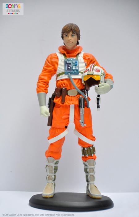 Statue Luke Snowspeeder Pilot - Attakus Luke_s12