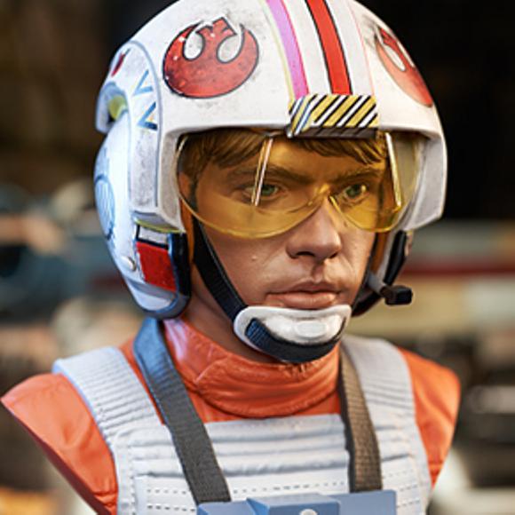 Luke Skywalker X-Wing Pilot Legends in 3D Bust  Gentle Giant Luke_s51