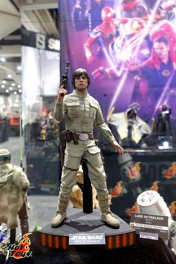 Luke Skywalker (Bespin) 6th Scale Figure Hot Toys Star Wars Lukesk11