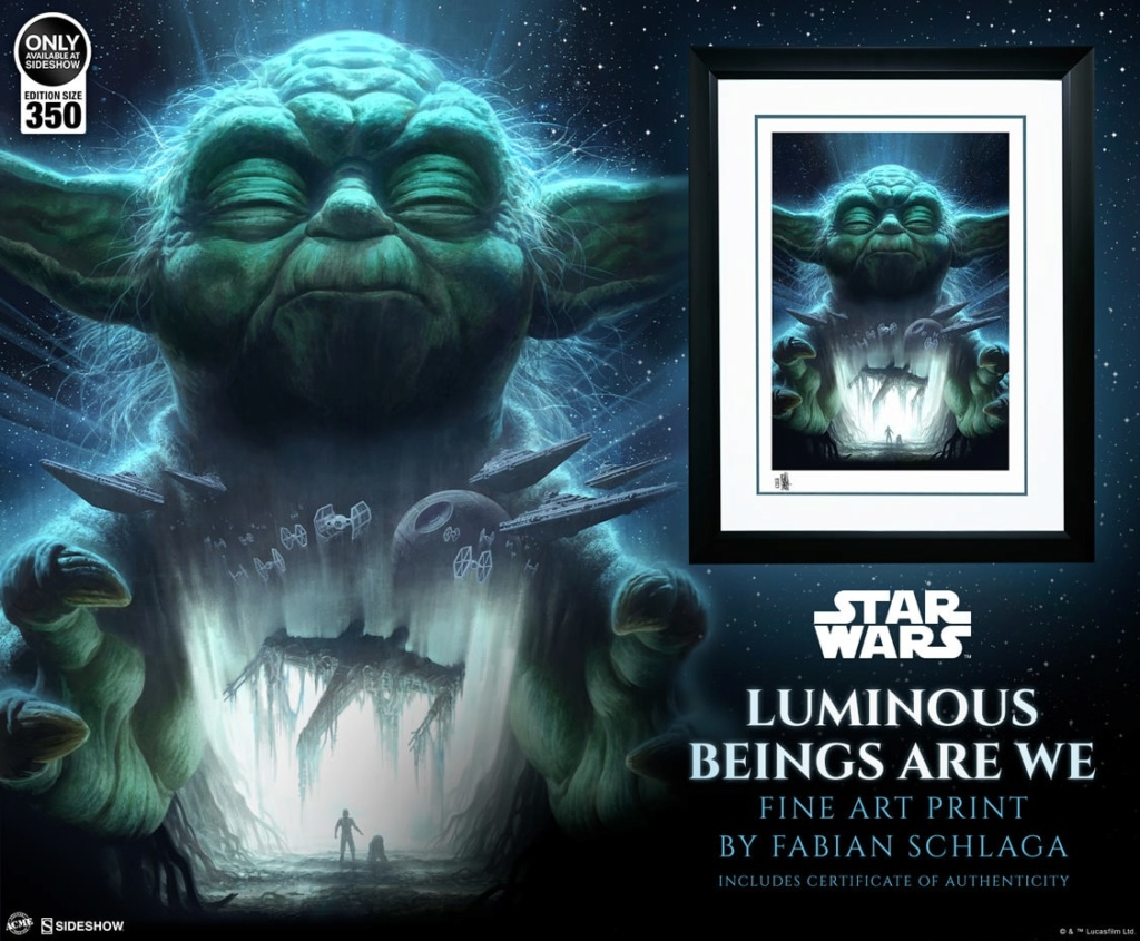 Star Wars Luminous Beings Are We - ACME / Sideshow Lumino10