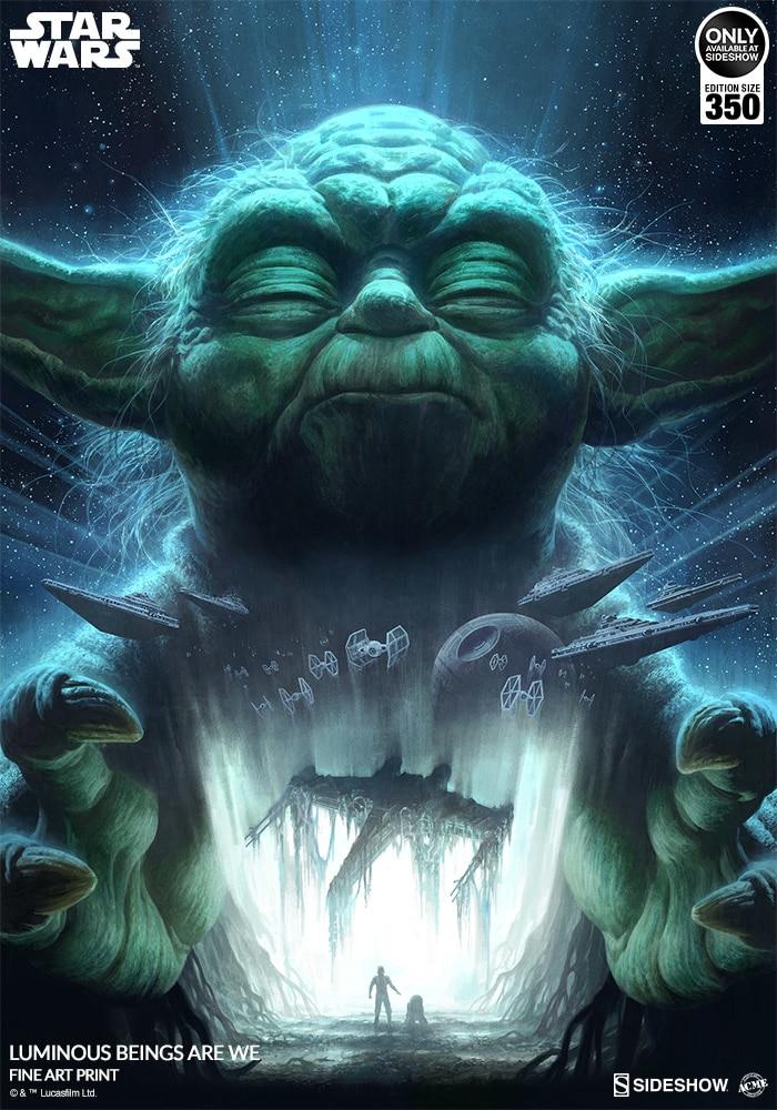 Star Wars Luminous Beings Are We - ACME / Sideshow Lumino13