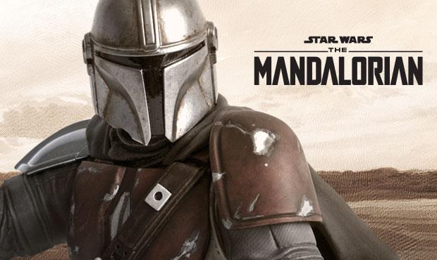 The Mandalorian (Beskar Pauldron) - 1/6 Scale Mini-Bust  Mail10