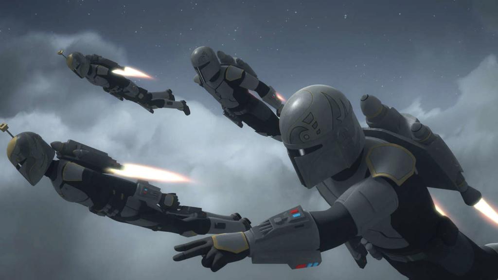 Les RUMEURS de la série Star Wars The Mandalorian Mandal10
