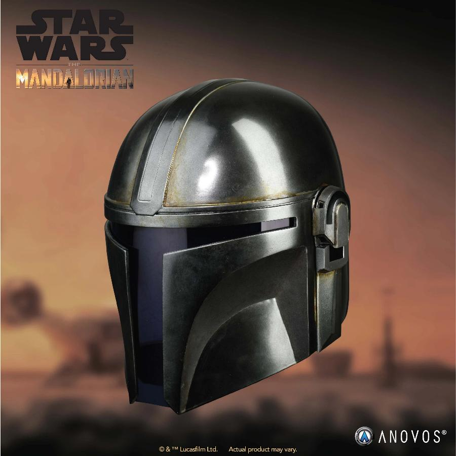 The Mandalorian Helmet - ANOVOS STAR WARS  Mandal13