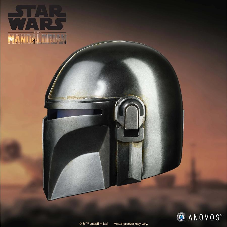 The Mandalorian Helmet - ANOVOS STAR WARS  Mandal14