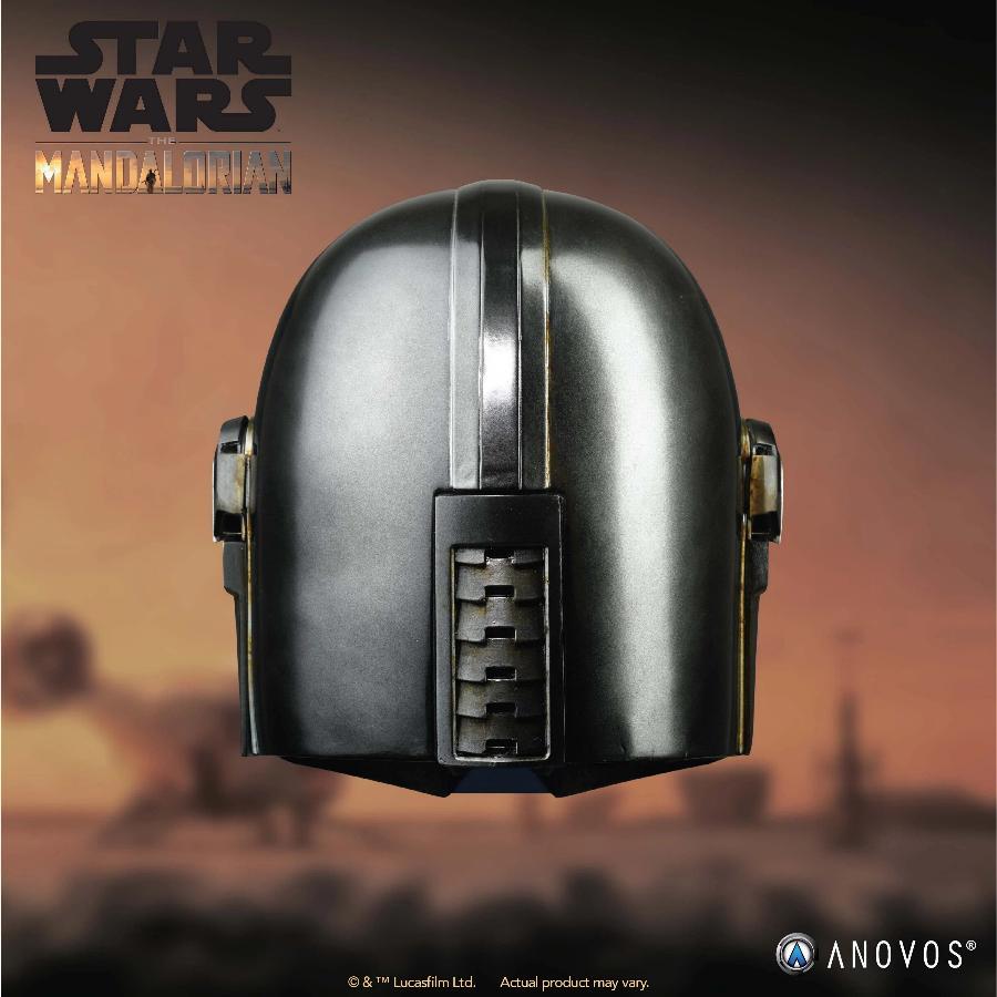 The Mandalorian Helmet - ANOVOS STAR WARS  Mandal15
