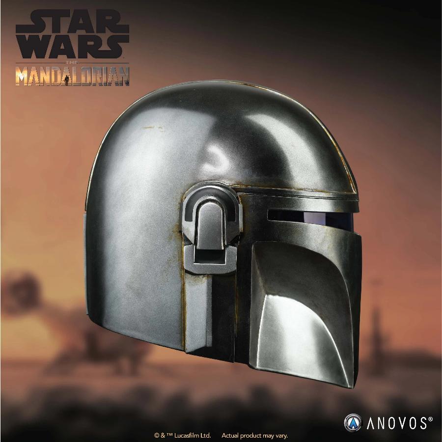 The Mandalorian Helmet - ANOVOS STAR WARS  Mandal16