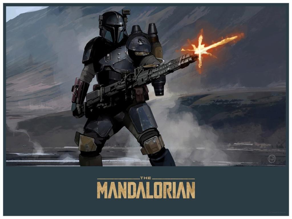 Mandalorian Gunner - Star Wars The Mandalorian - ACME Mandal20