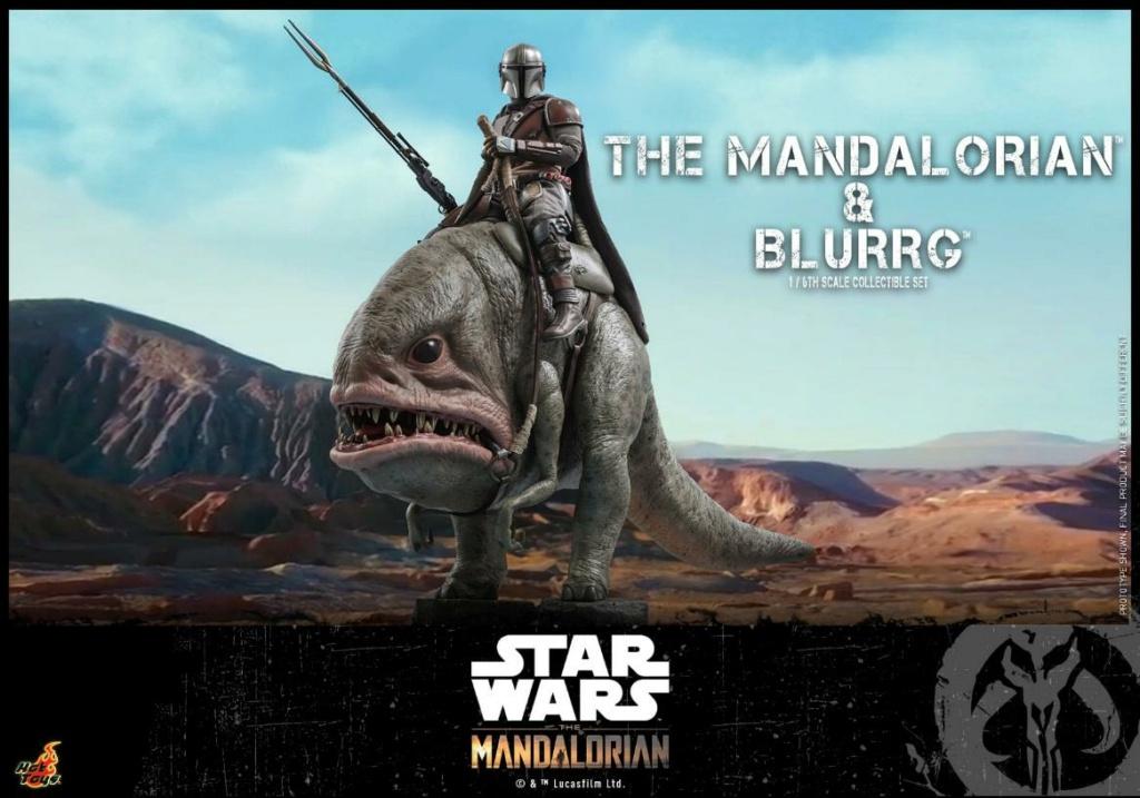 Star Wars The Mandalorian & Blurrg Collectible Set Hot Toys Mandal49