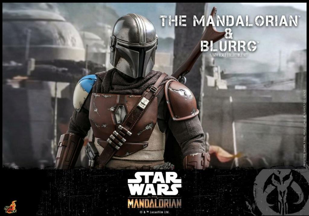 Star Wars The Mandalorian & Blurrg Collectible Set Hot Toys Mandal55