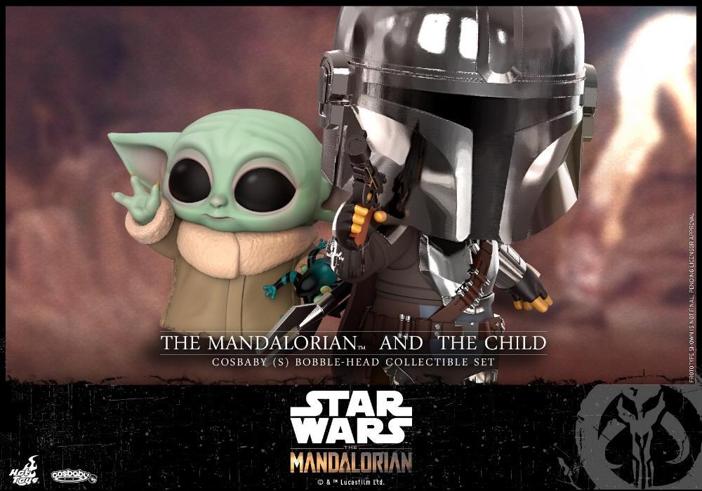 Star Wars The Mandalorian - Cosbaby Bobble-Head - Hot Toys Mando_11