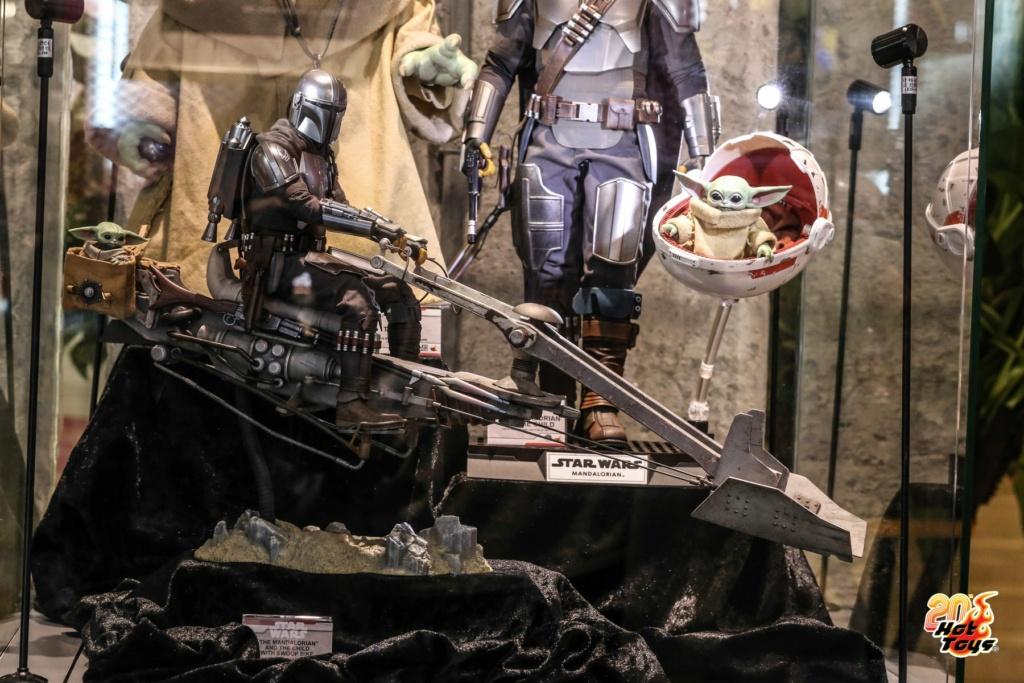 The Mandalorian Beskar Armor & Speeder 1/6 scale - Hot Toys Mando_13