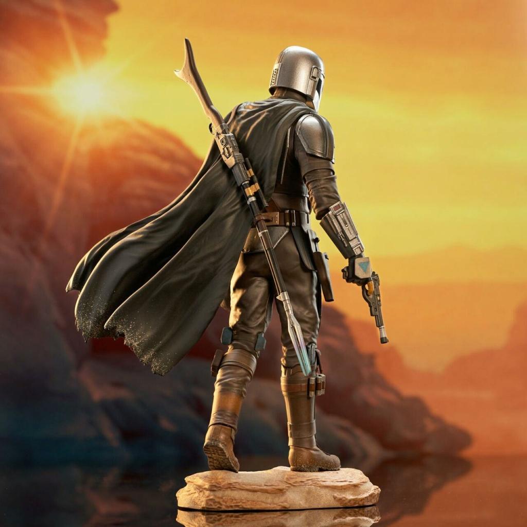 The Mandalorian avec Grogu - Premier Collection Statue - GG Mando_27