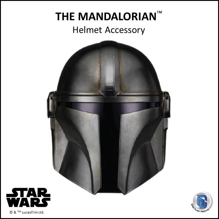 DENUO NOVO STAR WARS - The Mandalorian Helmet Mando_33