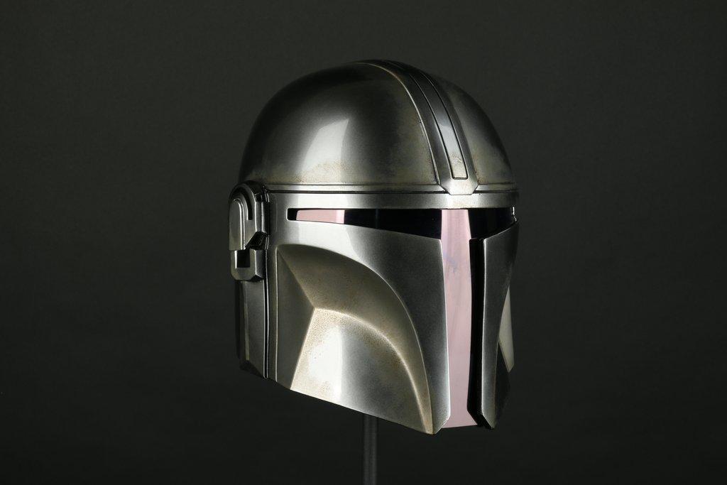 DENUO NOVO STAR WARS - The Mandalorian Helmet Mando_35