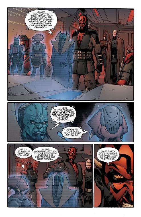 Star Wars Le Côté obscur 15 : Dark Maul Le fils de Dathomir Maul-s12