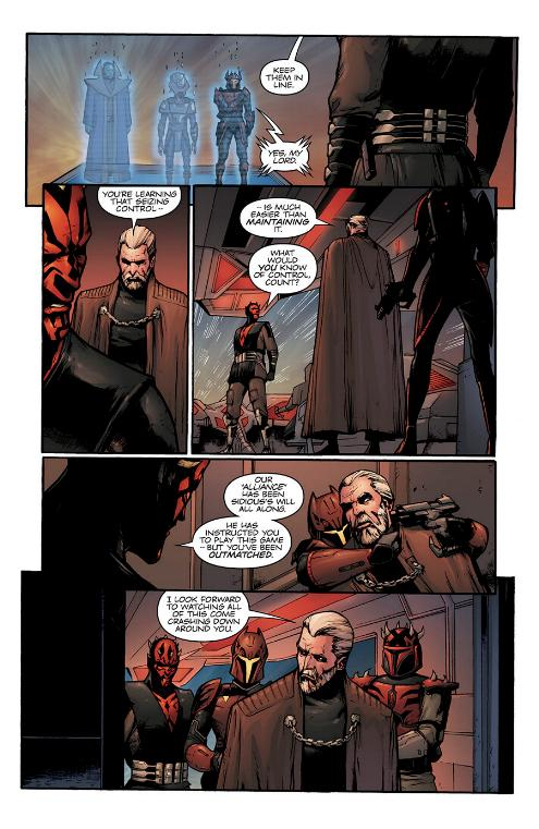 Star Wars Le Côté obscur 15 : Dark Maul Le fils de Dathomir Maul-s13